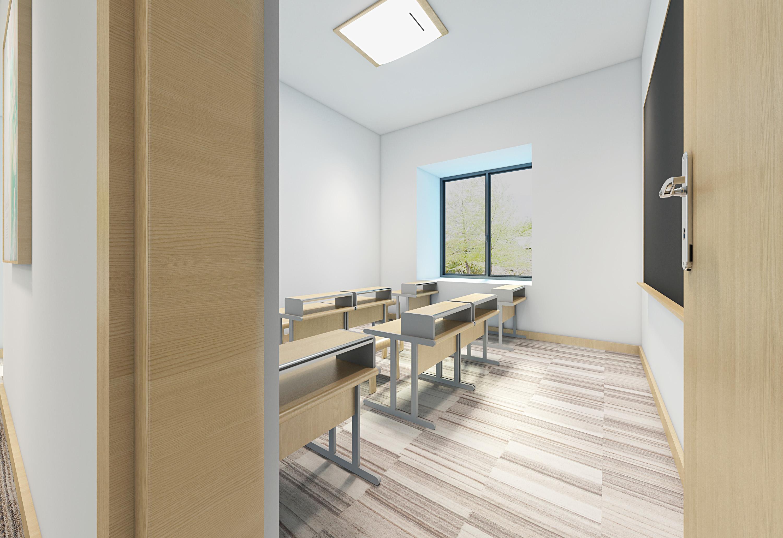 易学教育培训机构室内空间设计图片