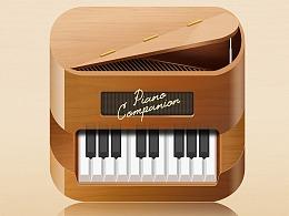 拟物图标-小钢琴