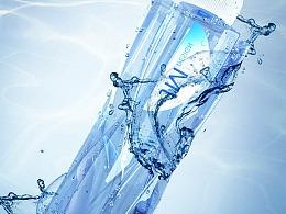 矿泉水瓶子建模