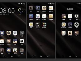 ZYVM4投影手机商务风格系统主题界面