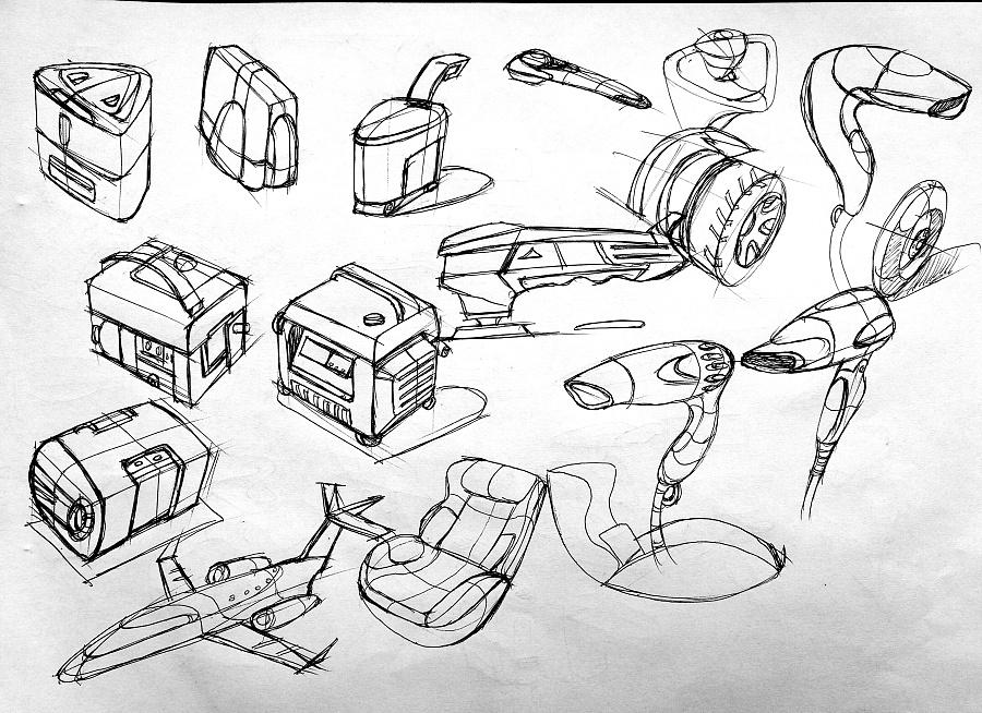 产品手绘练习