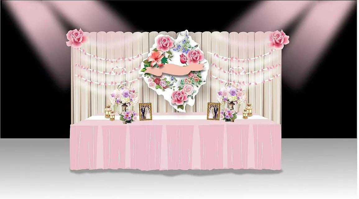 婚礼场景设计图