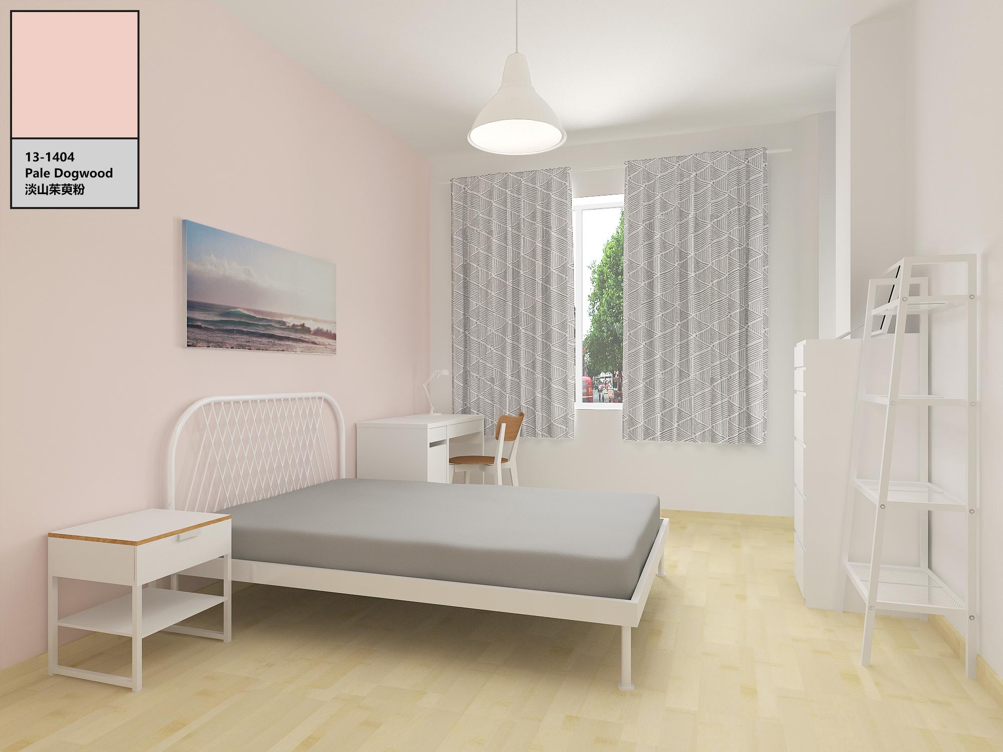 2017年pantone色卧室空间设计|空间|室内设计|klemon