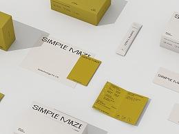 simple maze益生菌品牌标志及包装