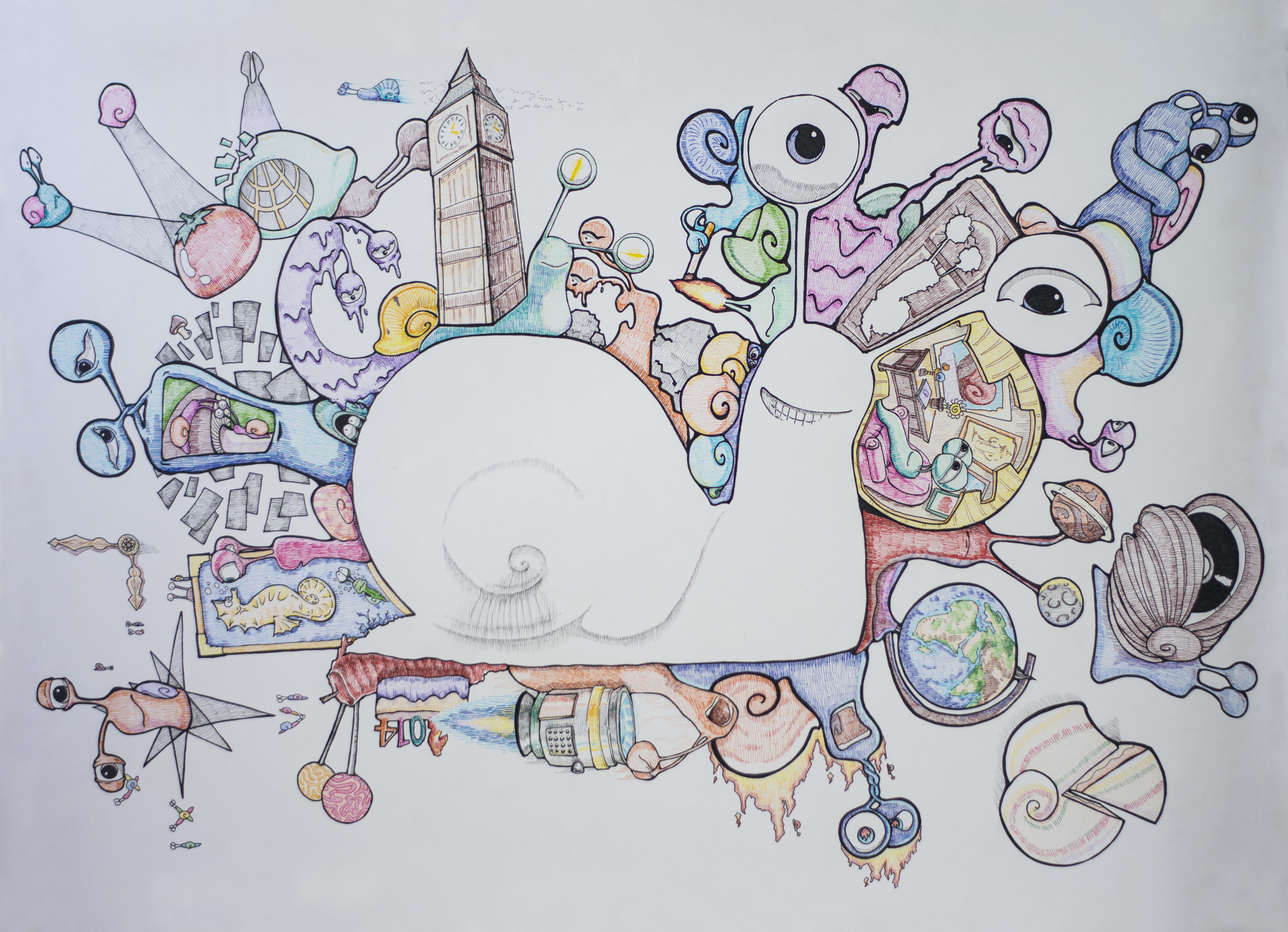 图形创意作业图片