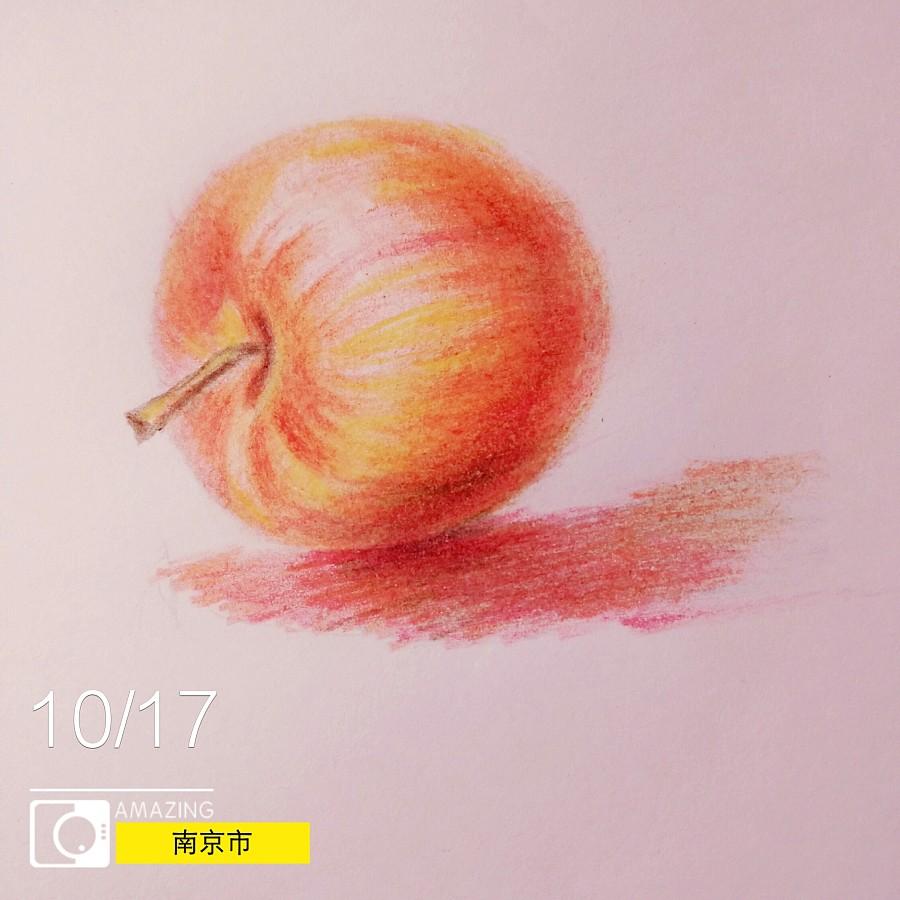 原创作品:手绘彩铅