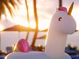 Summer Unicorn