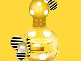 产品精修---香水瓶