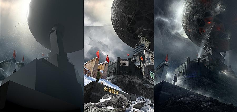 《三体》电影第三款概念海报(附合辑)|海报|平面