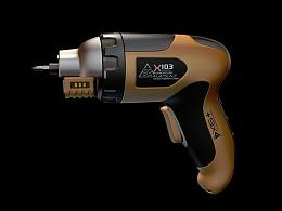 电钻 电动螺丝刀 工业产品建模  screw driver & drill