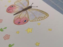 一只小蝴蝶