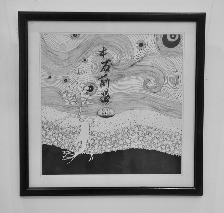 《红楼梦》纯手绘意象插画
