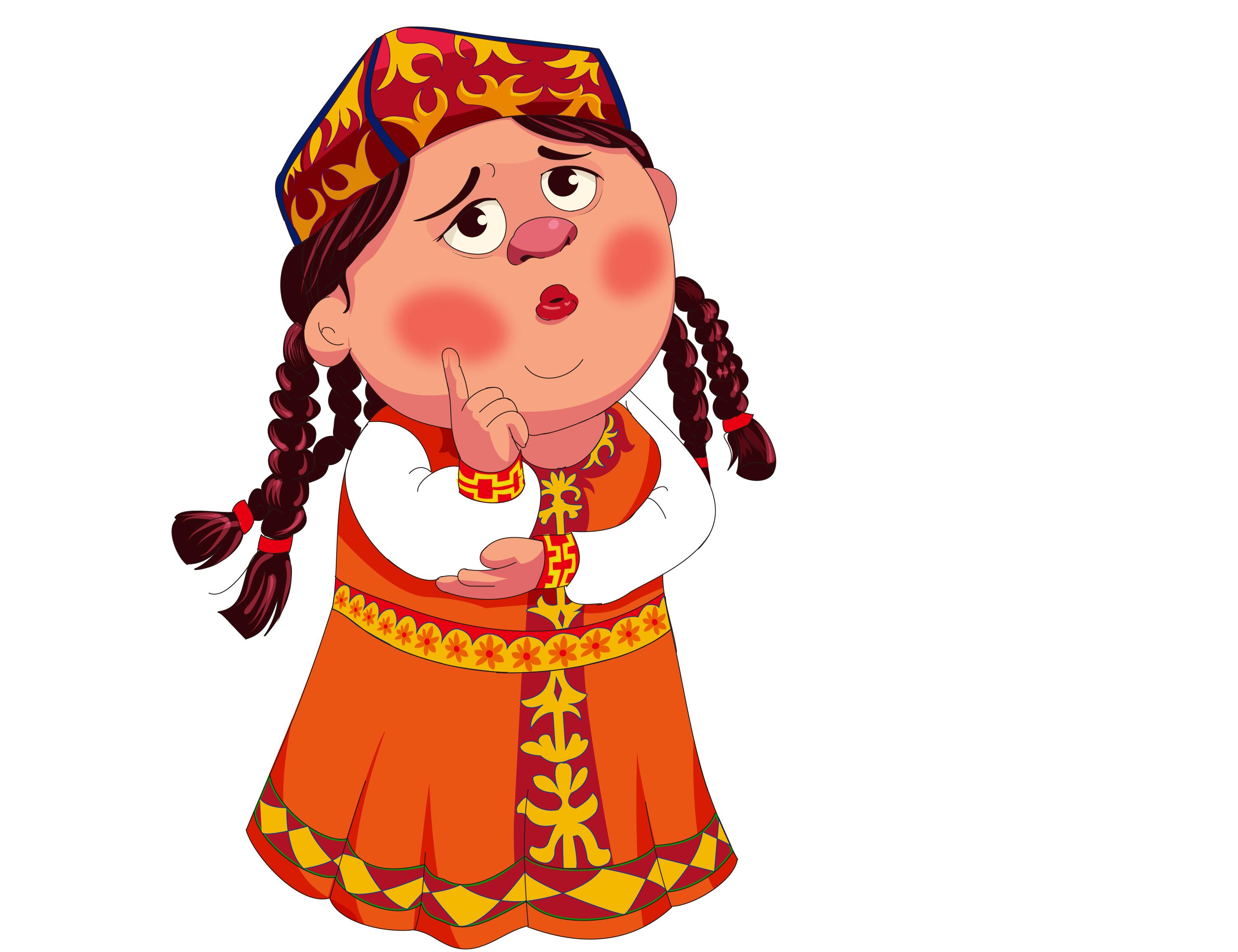 为乌鲁木齐市设计的新疆13个主体民族卡通人物图片