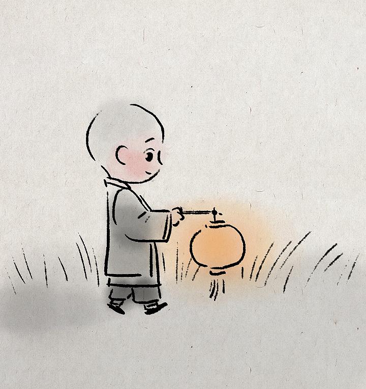 一禅小和尚 头像|插画|其他插画|一禅小和尚 - 原