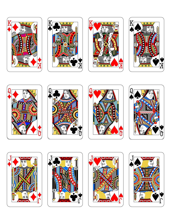 扑克牌人物