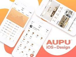 AUPU-家居APP iOS Design