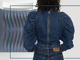 女装牛仔工艺趋势--张弛有度「不止褶皱」