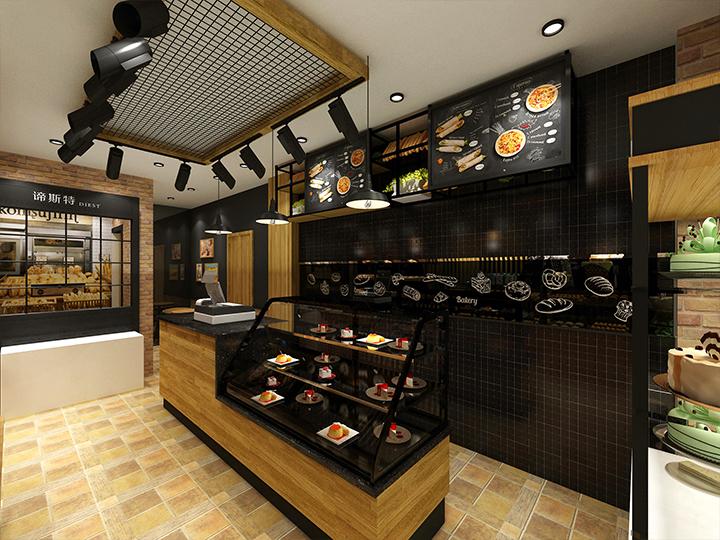 《烘焙品牌空间形象装修设计》——成都烘焙店装修设计 成都烘培店