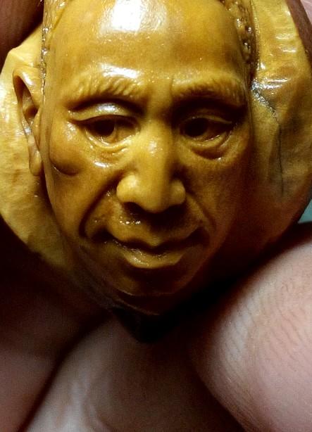 橄榄核雕刻|手工艺|铁艺|chenqiushi - 原创作品图片