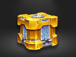 科技宝箱绘制