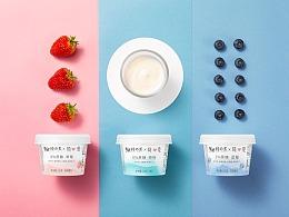简爱酸奶产品摄影