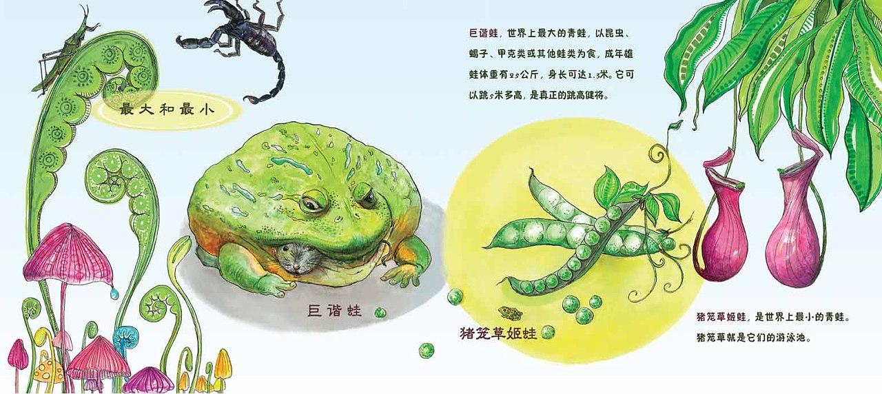 《小青蛙成长记》儿童科普类读物