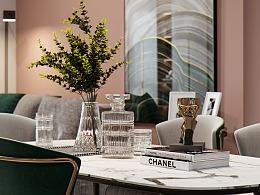 现代客餐厅卧室