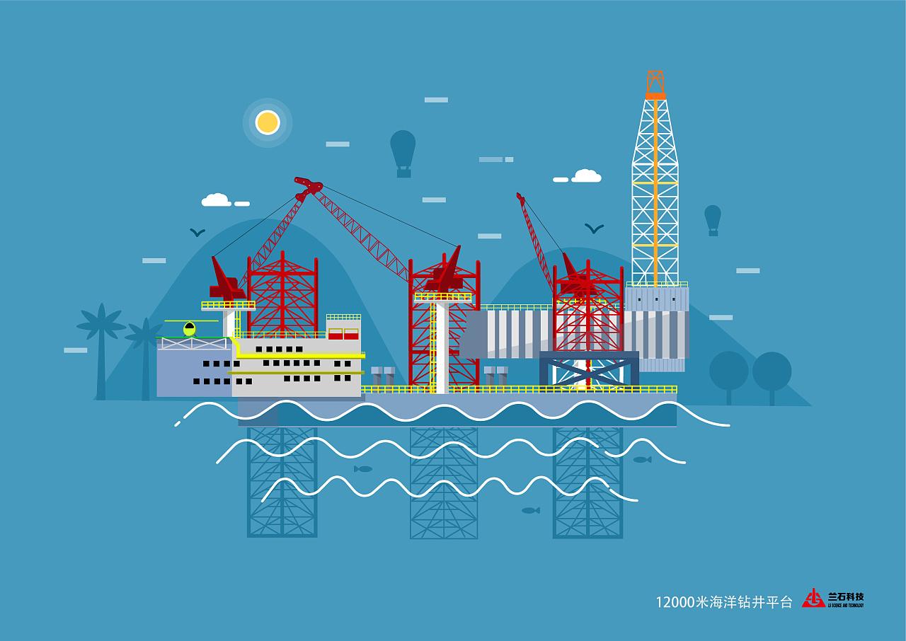 兰石插画集团产品形象设计想v插画室内设计应该从何入手图片