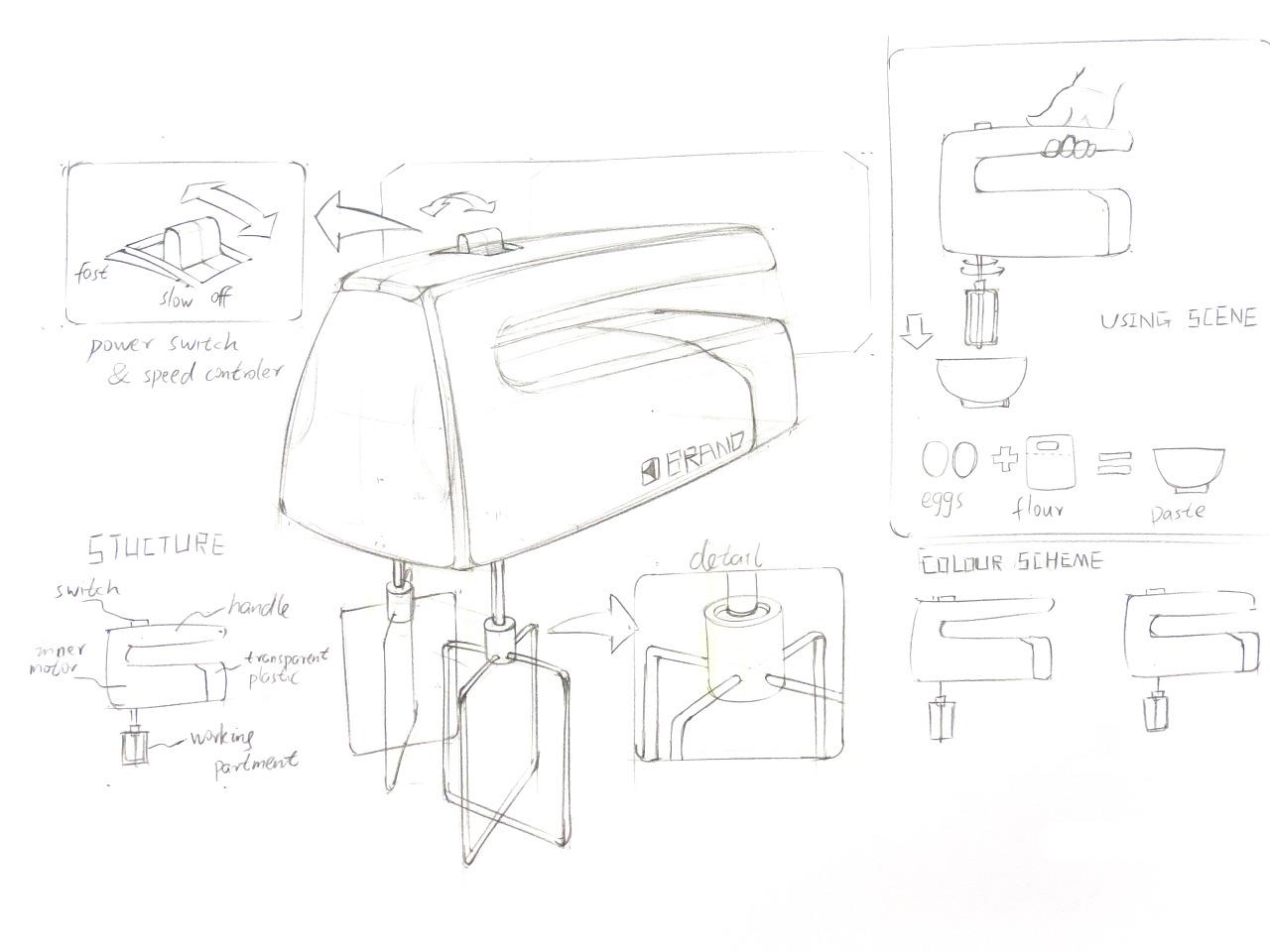 工业设计手绘·森林畅想|工业/产品|其他工业/产品|云