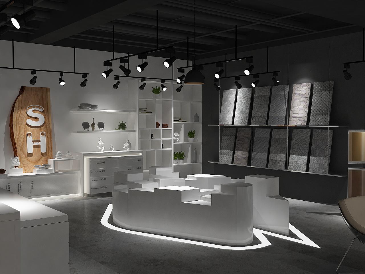 《不锈钢展厅展厅》-成都建材定制丨成都展厅v展厅装修榻榻米如何设计图图片