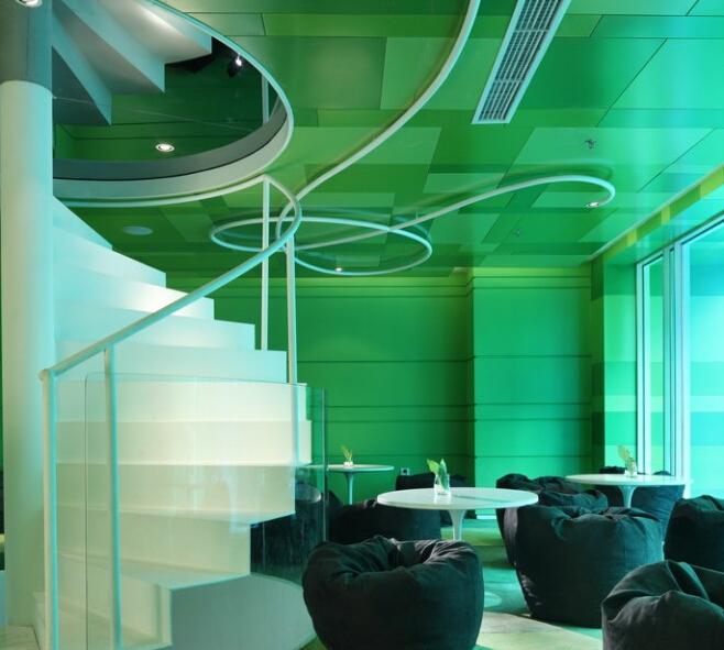 酒泉专业设计|酒泉餐厅特色设计|酒泉餐厅设计|酒泉专业时间餐厅莫奈在不同餐厅里绘制了相同的稻草堆图片