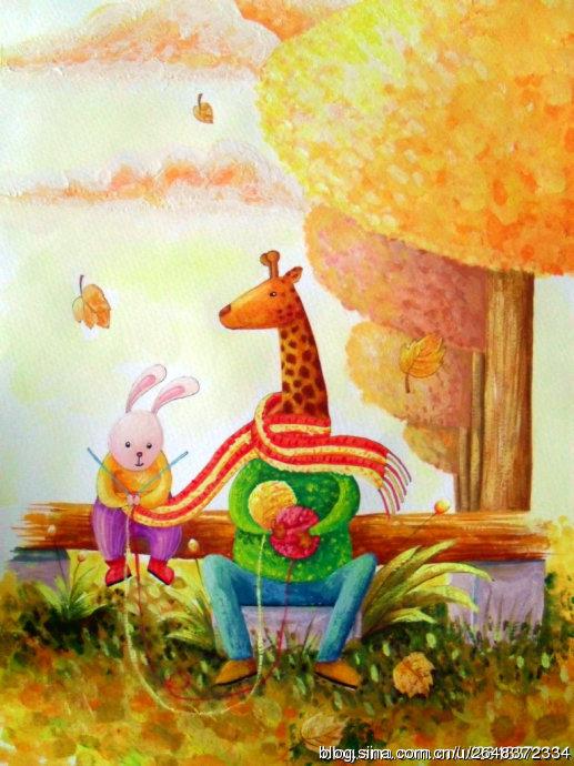 |儿童插画|插画|wanghui木头人
