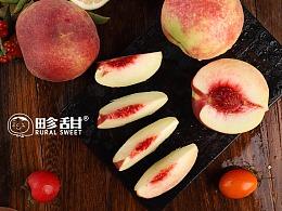 金秋红蜜桃丨秋天的甜蜜丨飞鸟传媒陈默