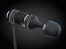 C4D教程之耳机分解建模剖析