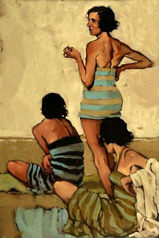 油画临摹|油画|纯艺术|cindyazy123