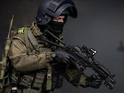 """8周年版:1/6 俄罗斯联邦内务部""""LYNX/山猫""""特种部队"""