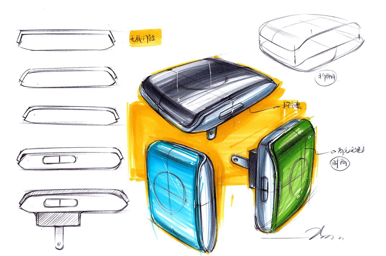 工业设计手绘爆炸图_手绘在设计中的意义——马赛Mars|工业/产品|电子产品|马赛Mars ...