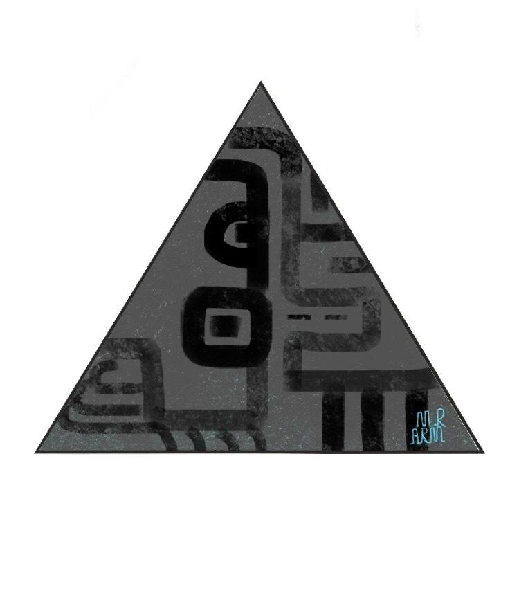 三角形日志图片