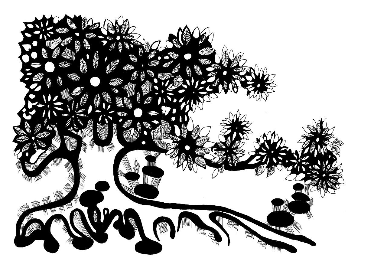 手绘插画|插画|插画习作|牛淑玉 - 原创作品 - 站酷