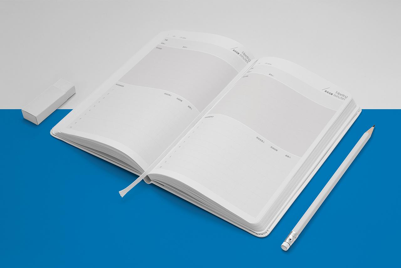 筆記本外殼設計_筆記本設計_vi設計模板筆記本