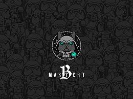 【mastery B】塔罗牌占卜logo设计