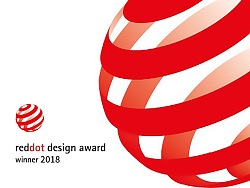 airx A8空气净化器荣获2018年德国红点设计奖