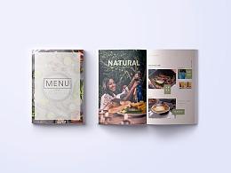 餐饮品牌/餐单菜单/MENU海报