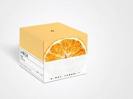 「 盒子实验室✖️橘子大福 」水彩插画包装