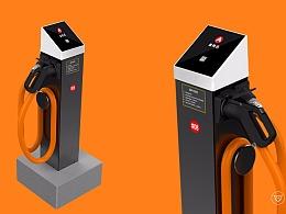 充控一体化的立柱式直流充电桩设计