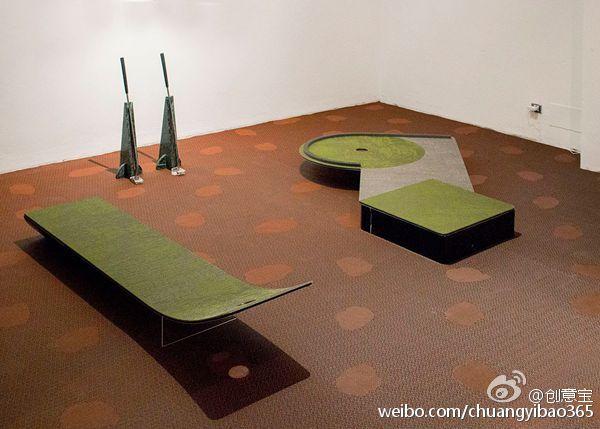 查看《室内迷你高尔夫球场》原图