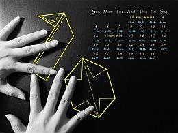 创意新年日历设计Calendar Design