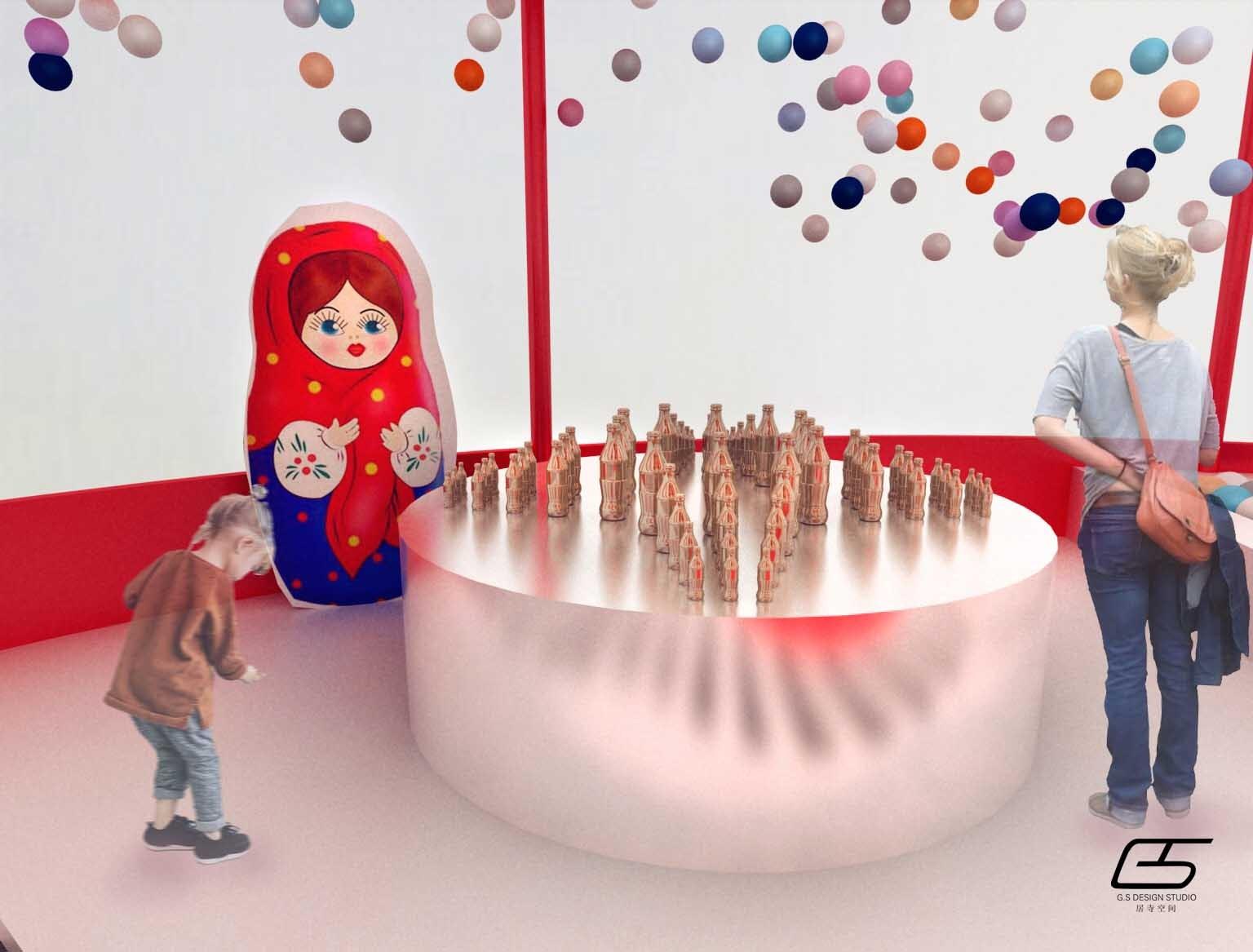 gs project - 可口可乐世界杯路演|空间|展示设计 |居图片