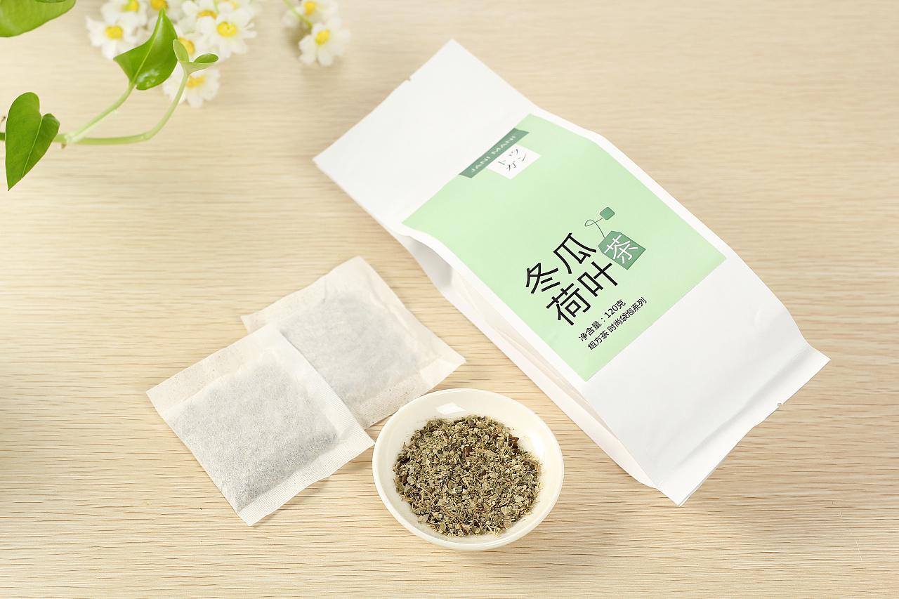 包装设计《jani mani冬瓜荷叶减肥茶》