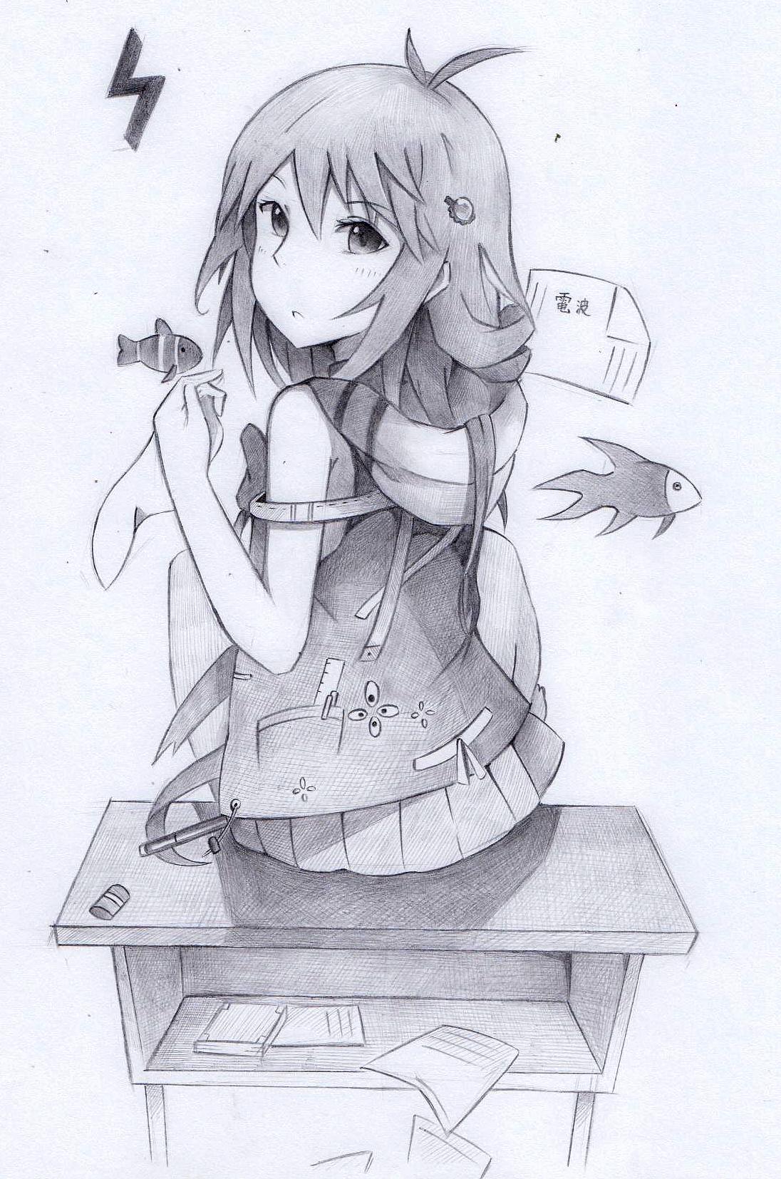 铅笔动漫画